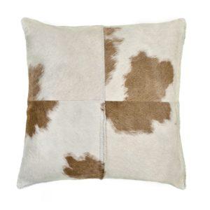 Beige & White Pillow