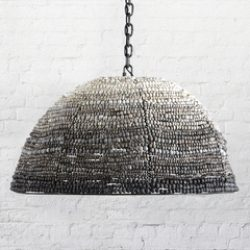 Ombre Dome pendant for kanju in Shades of Gray new 2019