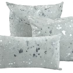White Silver 3 Pillow