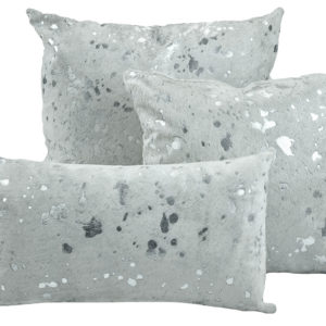 White & Silver Pillow