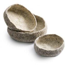 Hand Felted Nest Bowls kanju 01