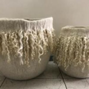 Specialty Mohair Basket